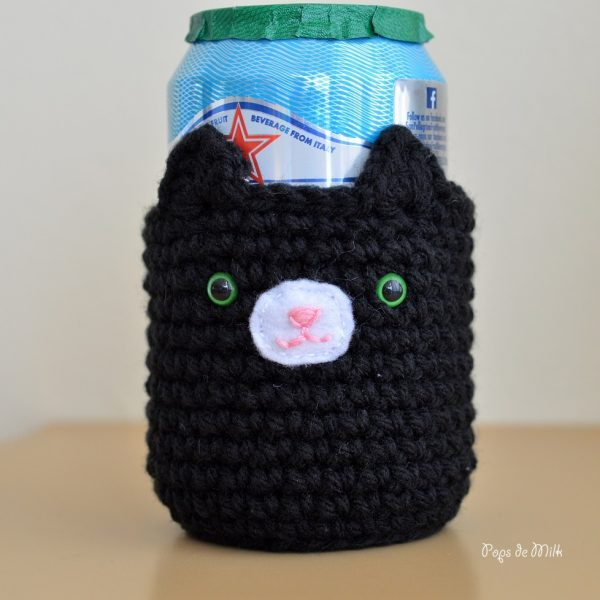 Cat Drink Cozy 4- Pops de Milk