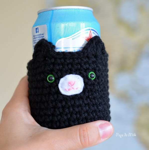 Cat Drink Cozy 5- Pops de Milk