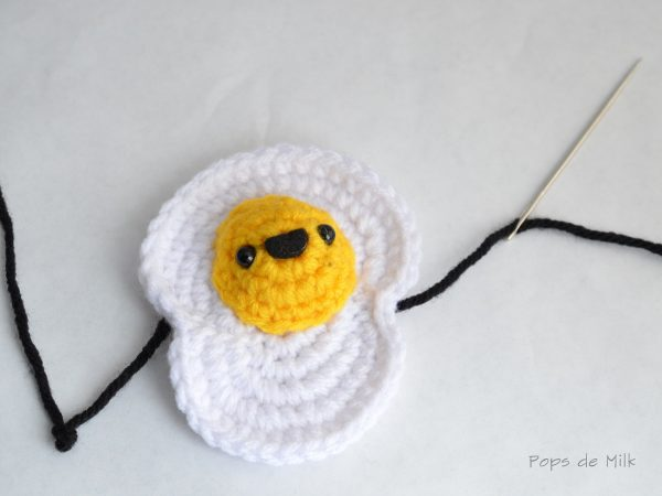 egg with a needle sword