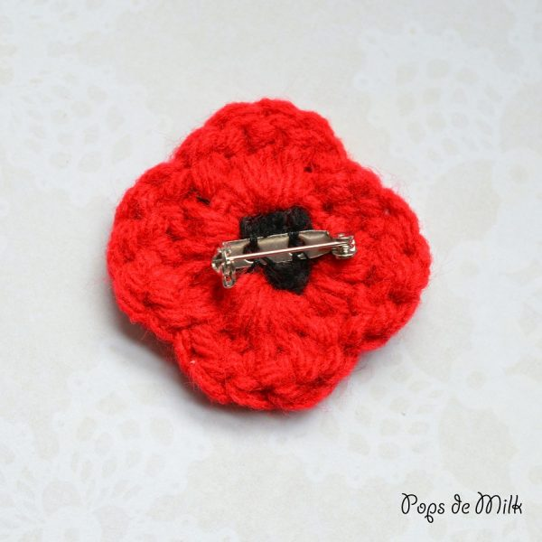 Remembrance Day Poppy - Pops de Milk10