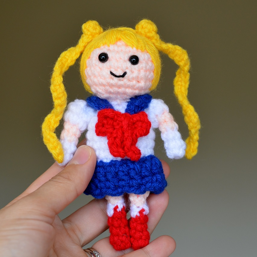 Spontaneous Joy: amigurumi anime L | 853x852