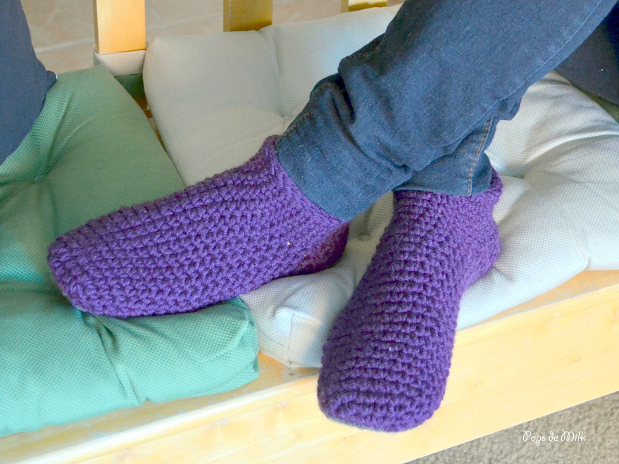 Chunky Slipper Socks - Pt 2 - Pops De Milk