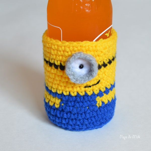 Minion Bottle Cozy - Pops de Milk