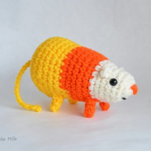 Science the Candy Corn Rat 4- Pops de Milk