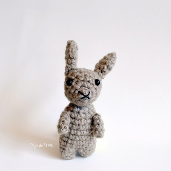 Tiny Rabbit front - Pops de Milk