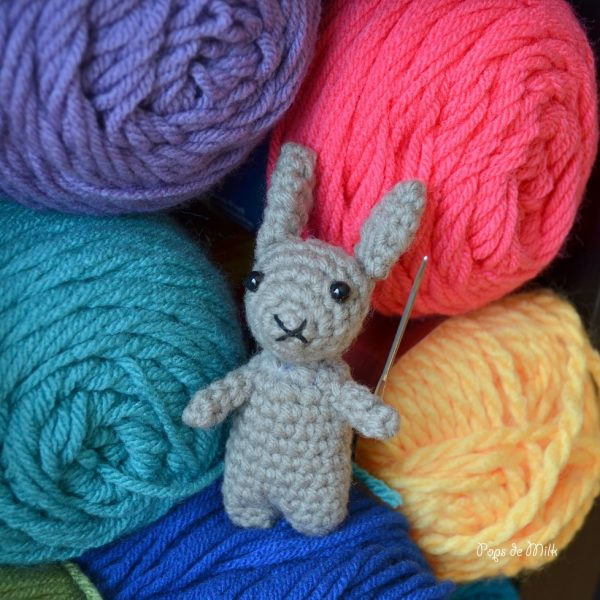 Yarn Warrior Bunny - Pops de Milk