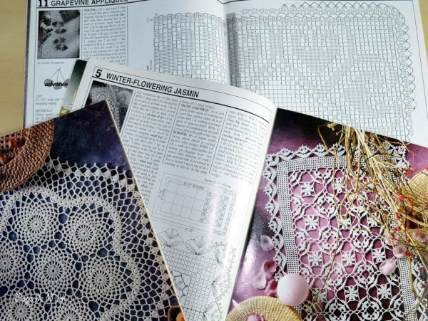 lace crochet magazines - pops de milk