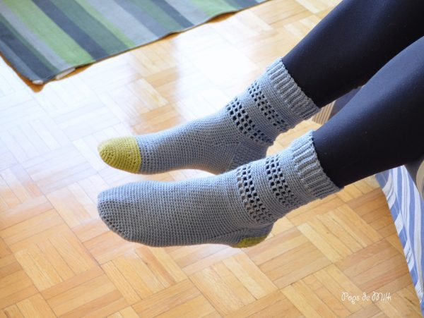 April Socks -Pops de Milk