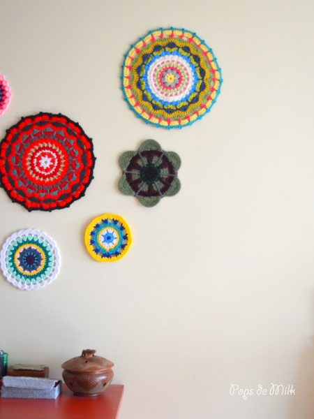 Mandala Wall Art - Pops de Milk