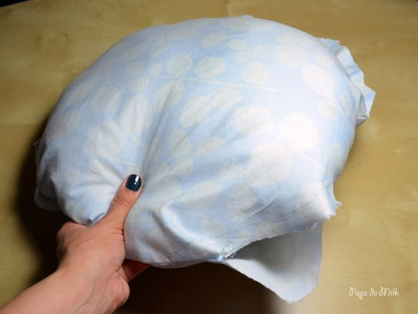 pillow insert - pops de milk