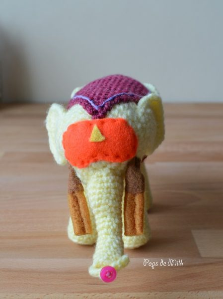Ancient Psychic Tandem War Elephant - Pops de Milk