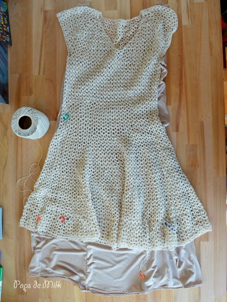 lacy dress wip - pops de milk