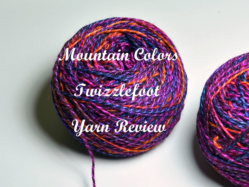 Twizzlefoot – Mountain Colors Yarn Review