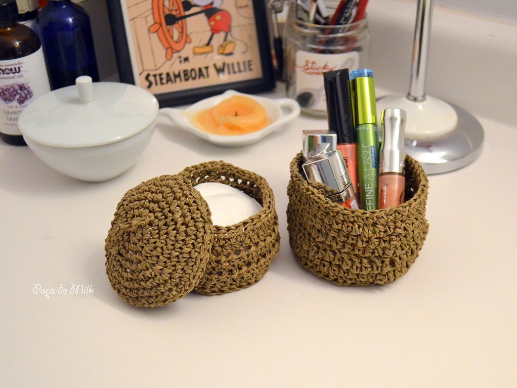 Mini Twine Baskets