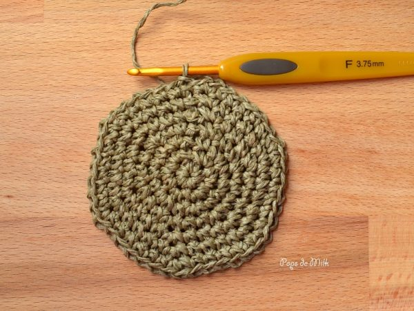 Twine Basket bottom round - Pops de Milk