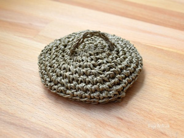 Twine Basket lid - Pops de Milk