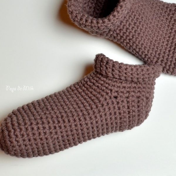Crochet Slippers - Pops de Milk