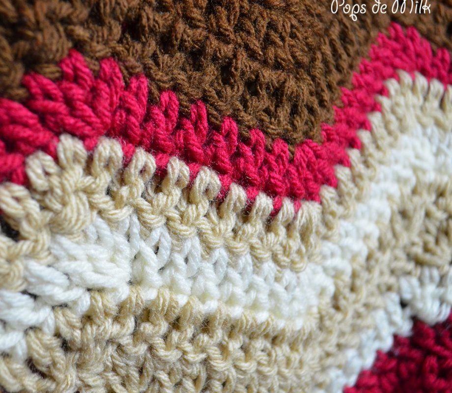 Crochet Bacon Blanket